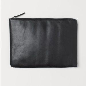 H&M Leather Laptop Case